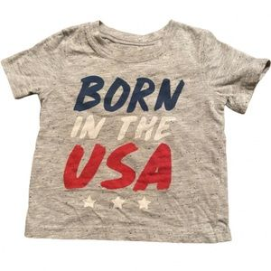 Born In The USA Fourth Of July Shirt